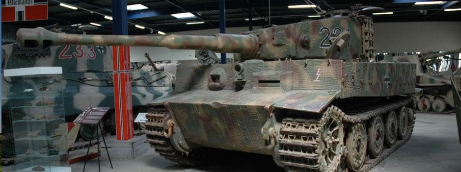 The Tank Museum in Saumur