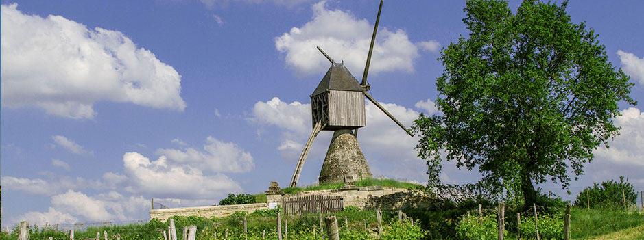 Windmill in Montsoreau