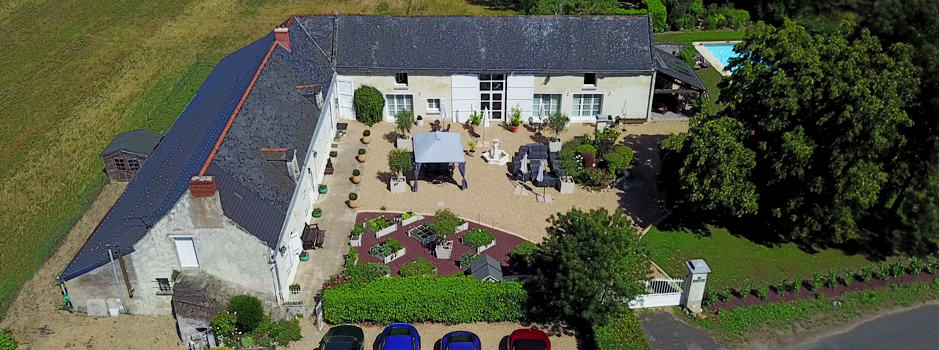 B&B & Cookery School Ariel View
