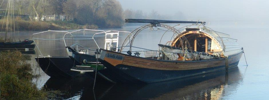 Traditional Loire River Boats